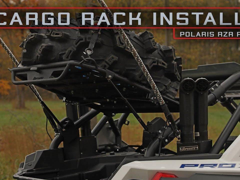 SuperATV cargo rack on RZR PRO XP