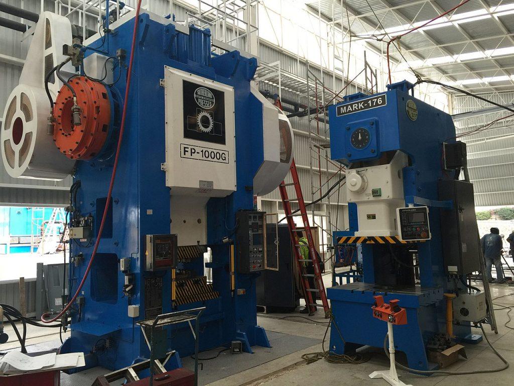 Huge forge presses