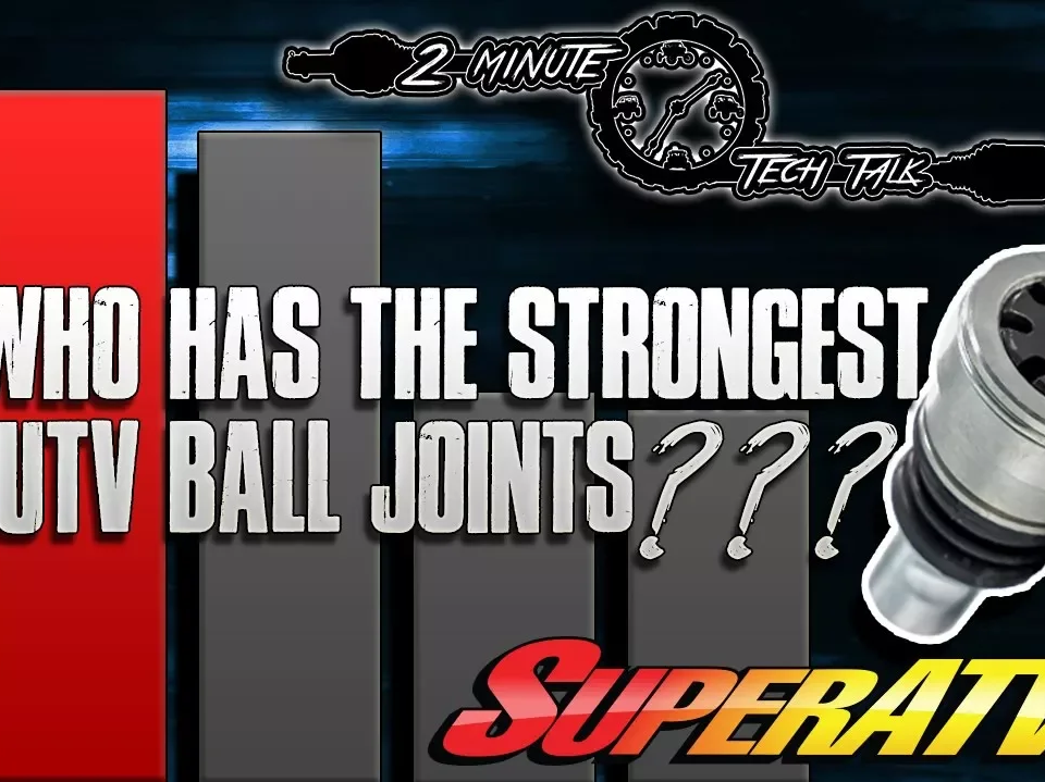 Who has the strongest UTV ball joints