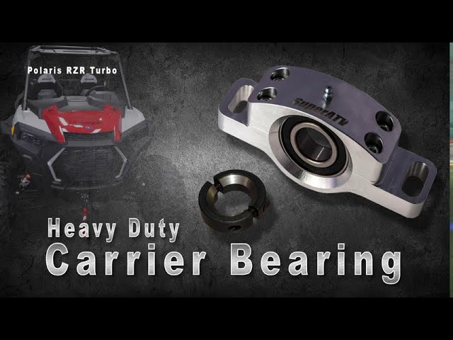 How to Install a Polaris RZR XP Turbo Carrier Bearing