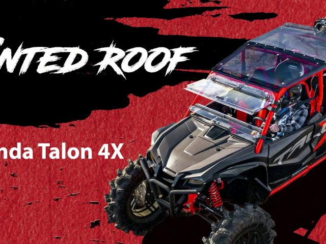 How To Install a Tinted Roof on a Honda Talon 1000X-4