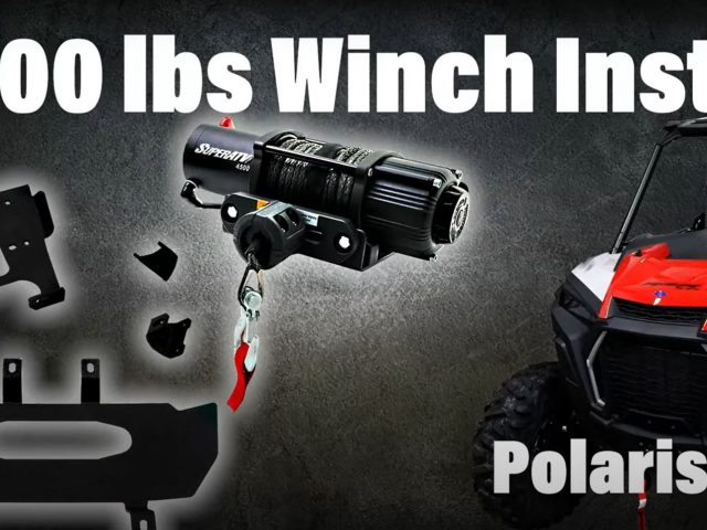 How to Install a 4500 Lb. Black Ops Winch on a Polaris RZR