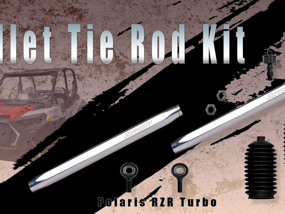 SuperATV's billet tie rod kit