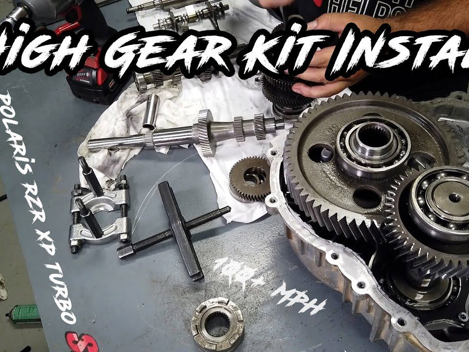 High gear kit and clutch kit for RZR XP Turbo