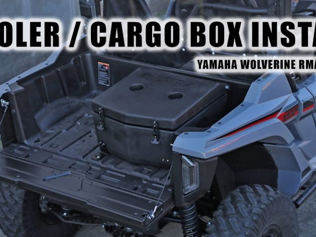 How to Install a Cooler/Cargo Box on a Yamaha Wolverine RMAX 1000