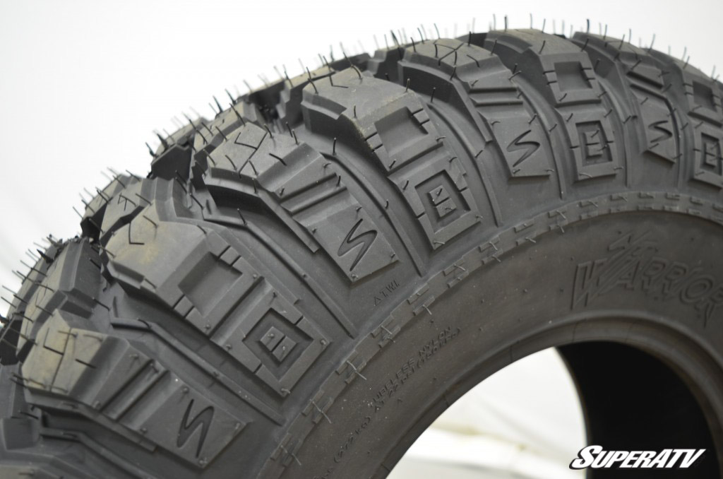 "AT Warrior Tires are DOT approved all-terrain tires with an emphasis on ""all-terrain."""
