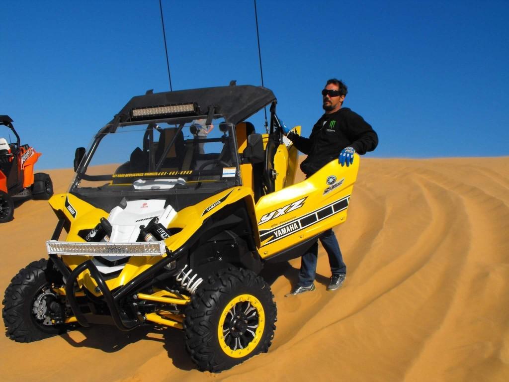 Chris Fischer at Little Sahara State Park