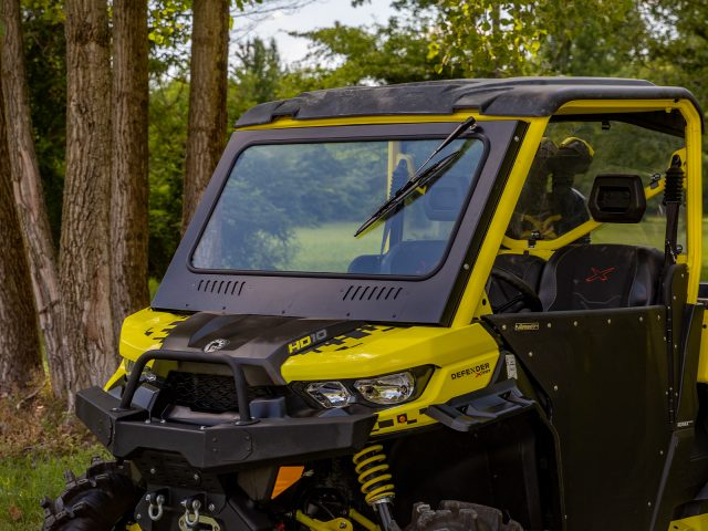 How to Install a Glass Windshield on a Can-Am Defender