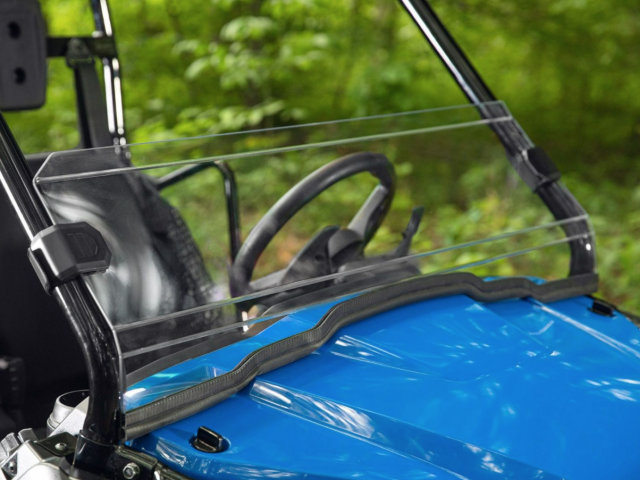 How to Install a SuperATV Half Windshield on a Honda Pioneer 500