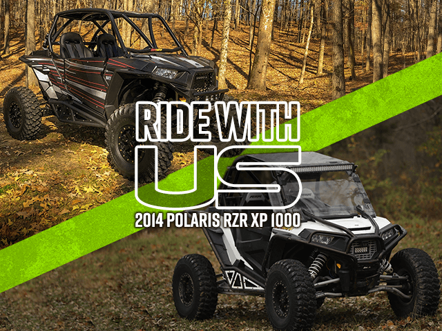 Ride with Us: 2014 Polaris RZR XP 1000