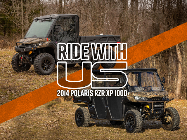 Ride with Us Can-Am Defender