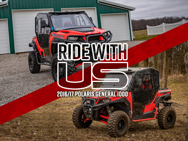 Ride with Us: 2016/17 Polaris General 1000