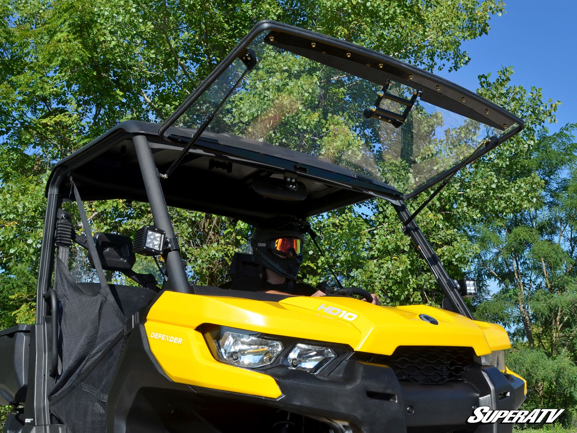 How to Install a Flip Windshield on a Can-Am Defender