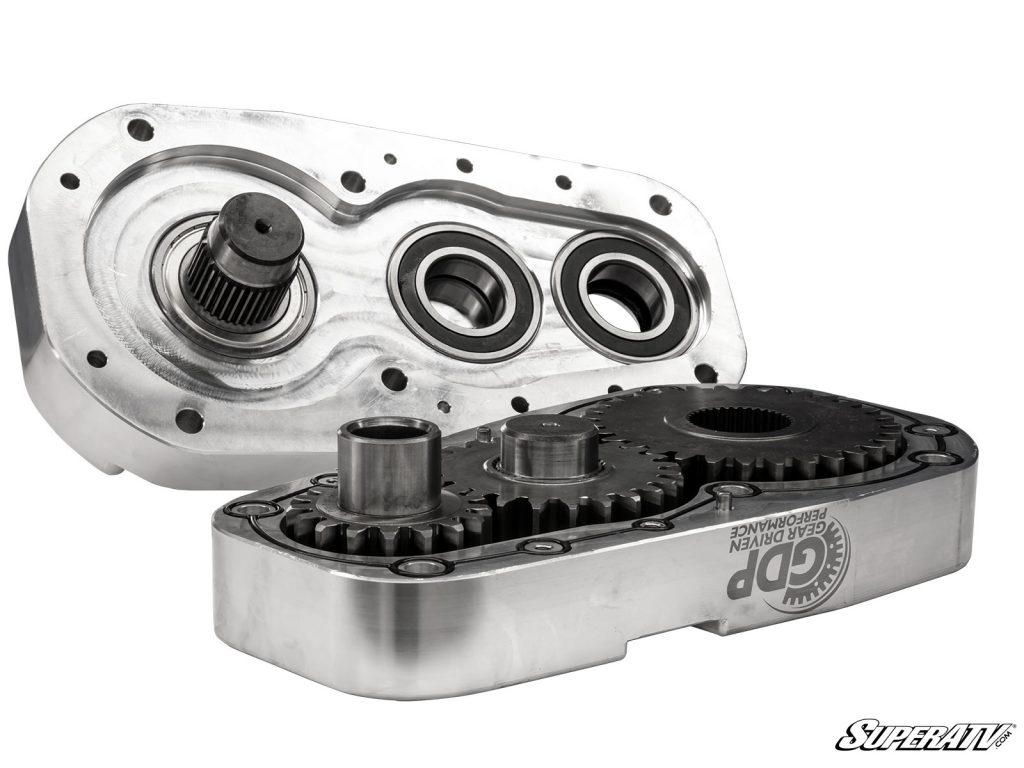"""8"""" billet aluminum portal gear box"""