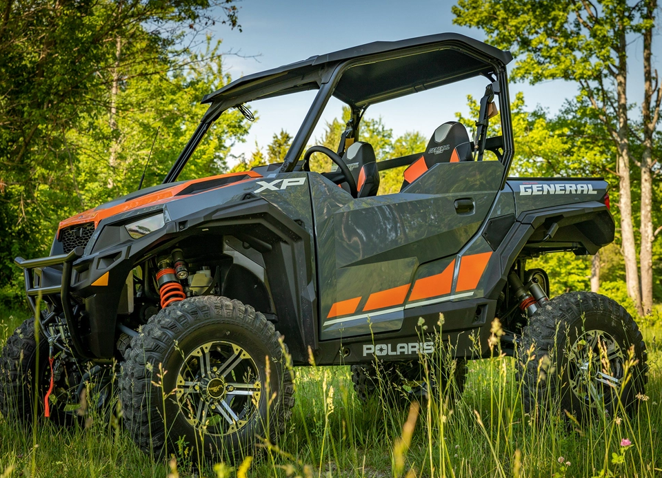 A Polaris General XP 1000 possibly affected by the stop sale/stop ride notice