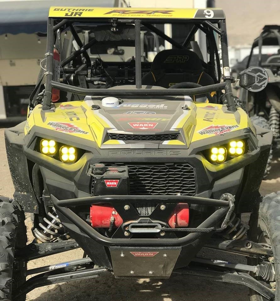A photo of Mitch Guthrie Jr.'s machine after winning King of the Hammers 2018