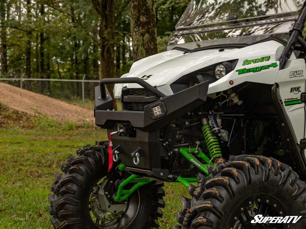 Installing a winch ready bumper on your machine is the best way to ensure that you're always ready for anything.