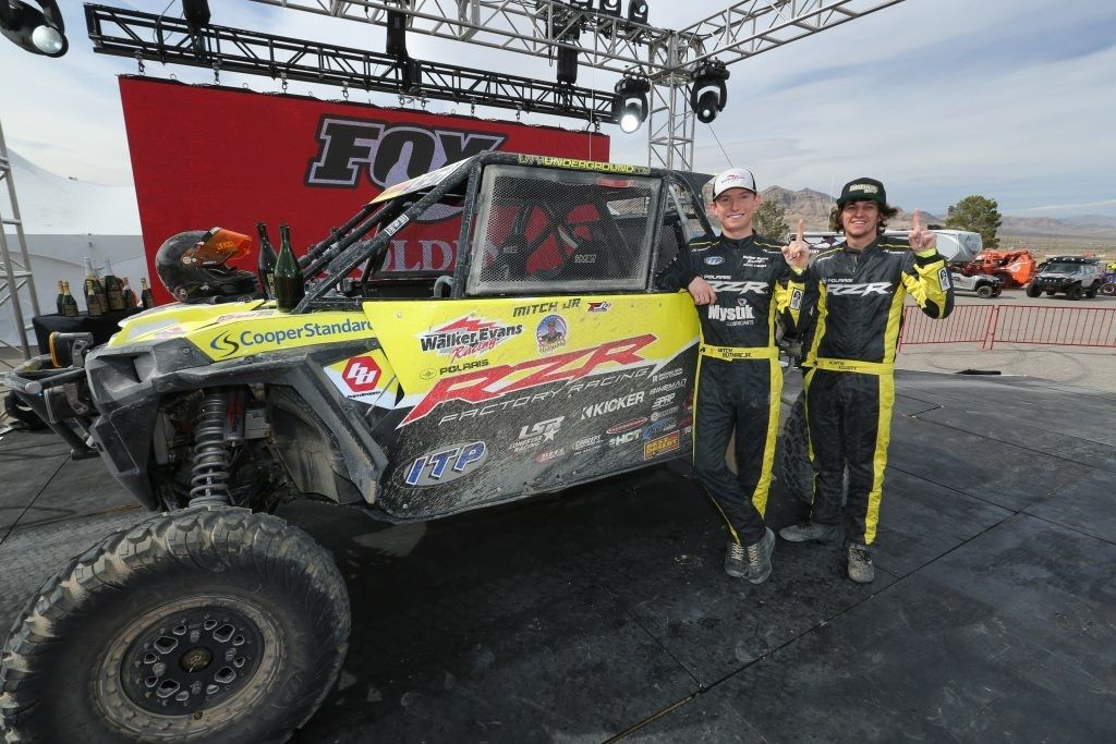 Guthrie racing team at King of the Hammers