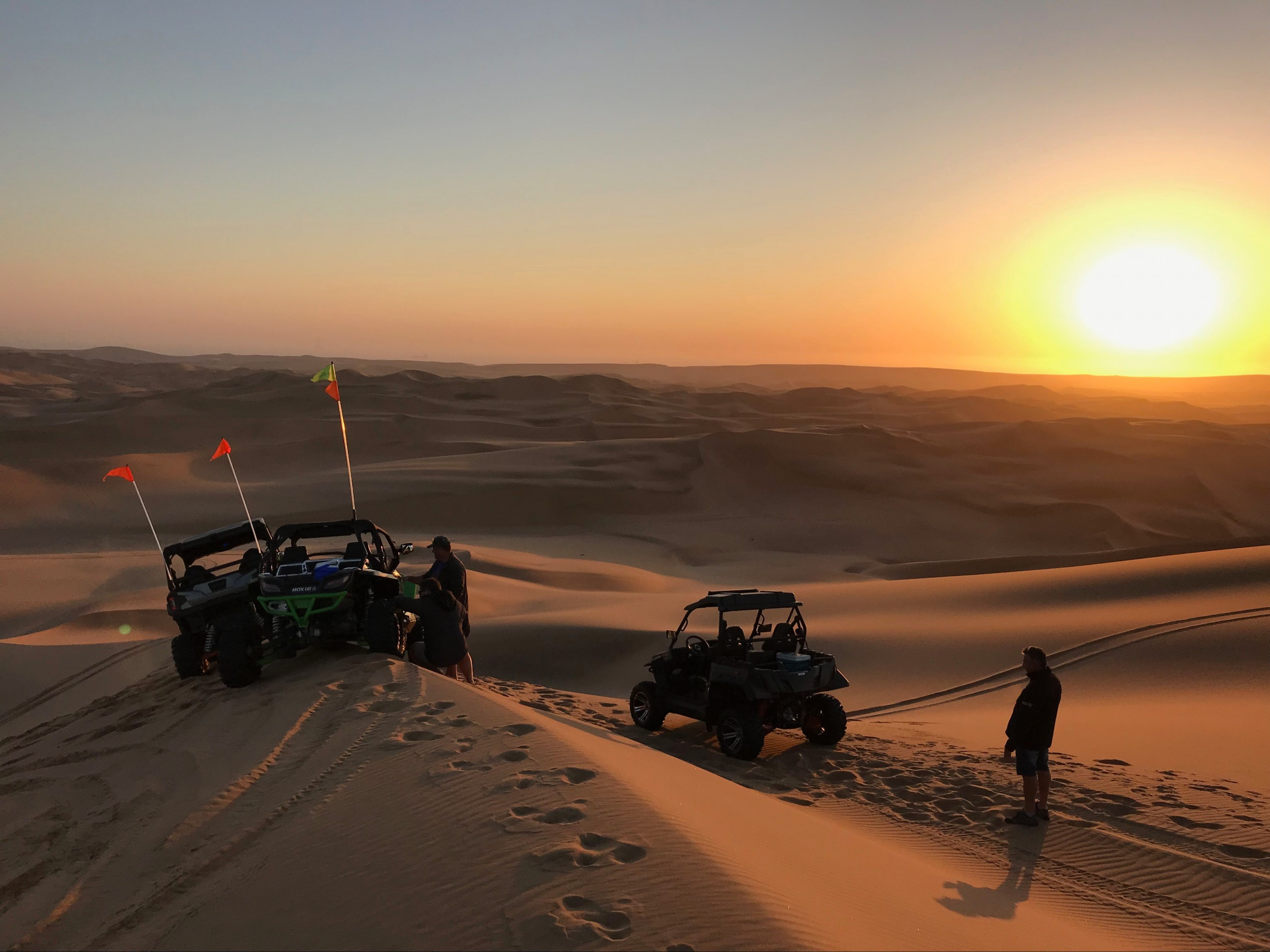 Untouched, Unproven, Uncertain—Off-Roading in the World's Oldest Desert