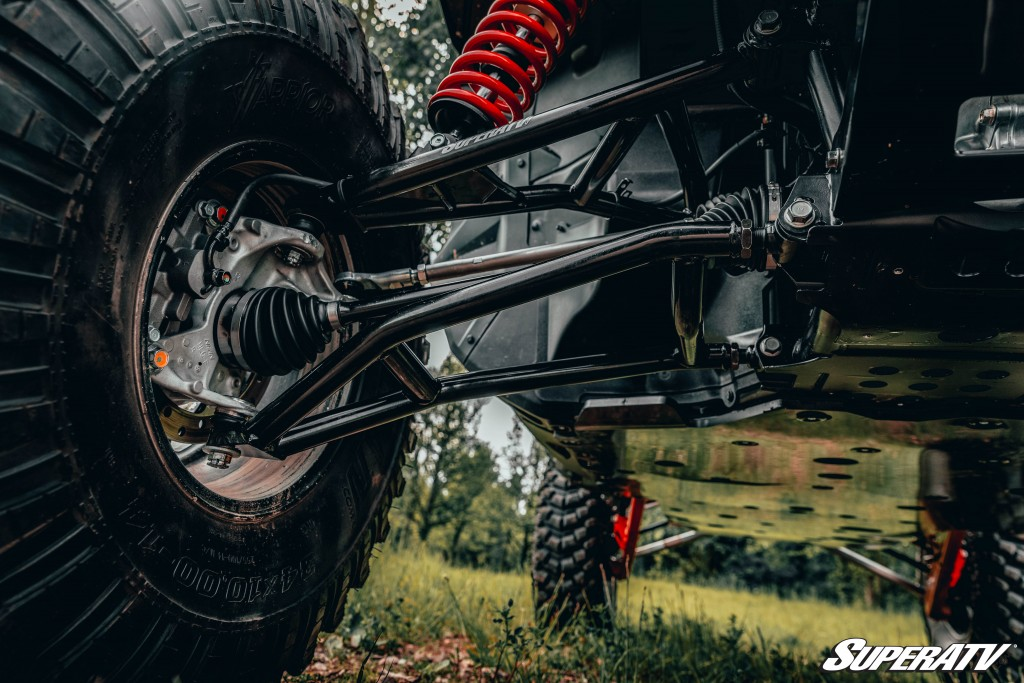 SuperATV's A-arms offer max strength, extra ground clearance, and a lifetime warranty, to name a few perks.