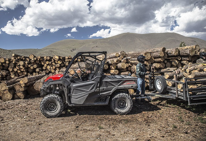 The 2019 Honda Pioneer 1000 introduced a refined chassis, making it easier to cover rougher terrain and take on tough jobs.