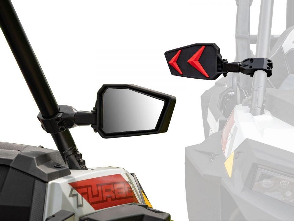 Polaris RZR side view mirror
