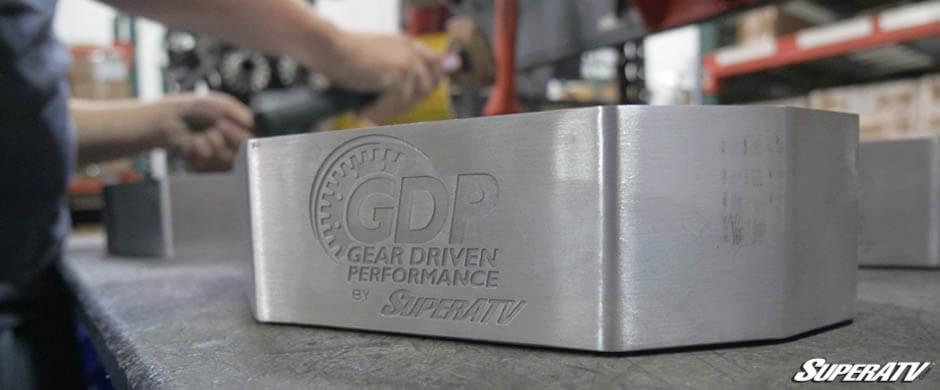 A close-up shot of a GDP Portal