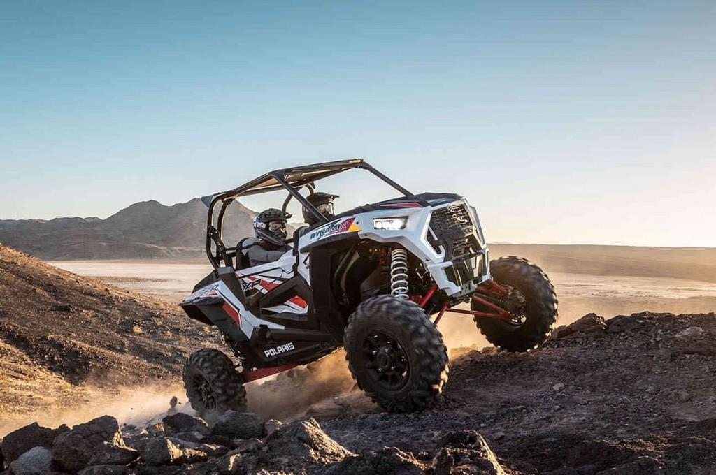The 2019 Polaris RZR XP 1000 EPS brought about redesigned seats and a roomier cab, all geared towards maximizing comfort.