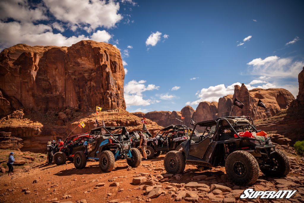UTVs riding at moab