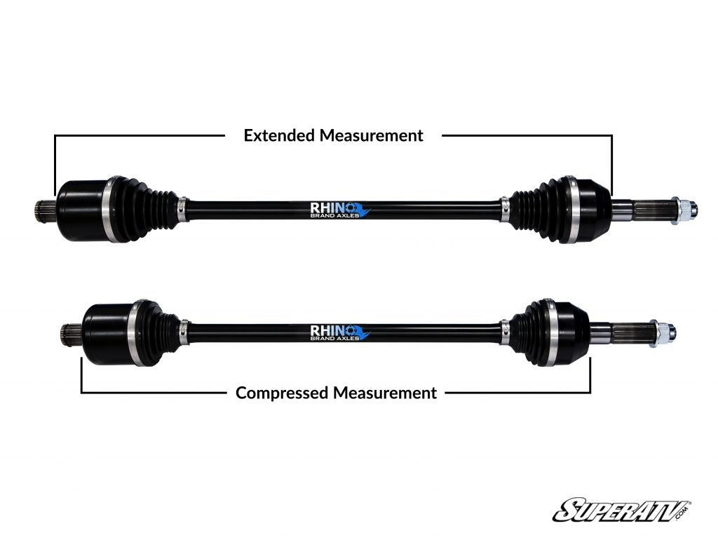An example of extended and compressed measurements.