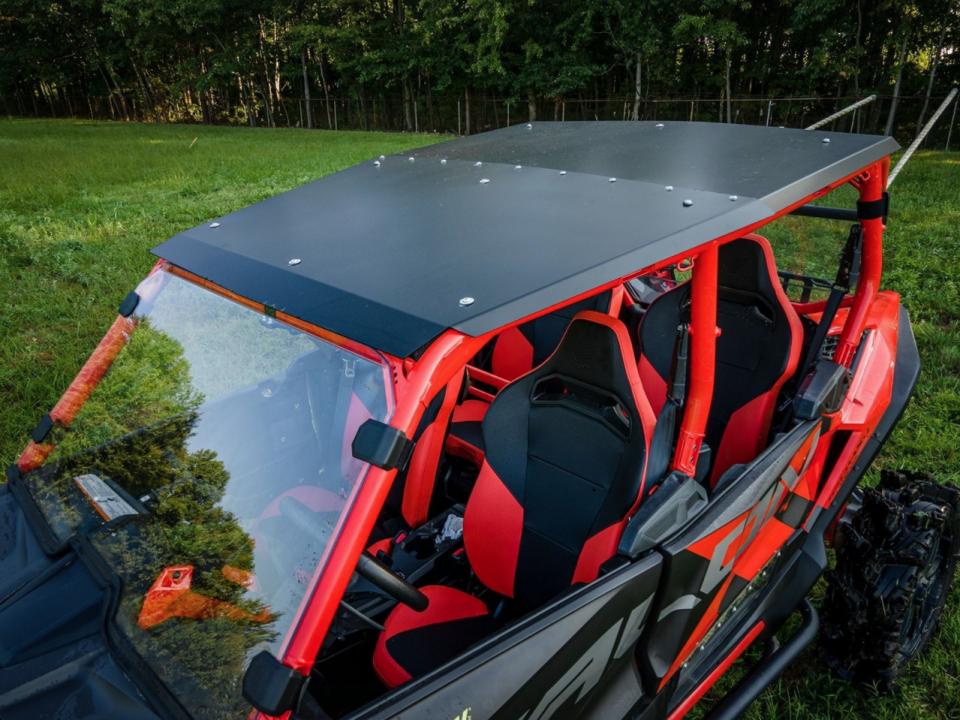 SuperATV Aluminum Roof installed on a Honda Talon