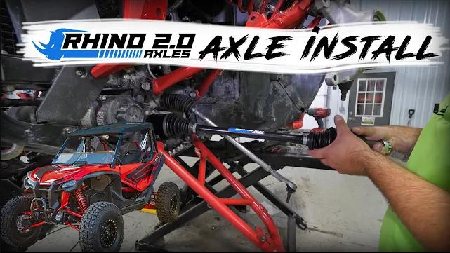 Honda Talon Rhino 2.0 Axle Installation
