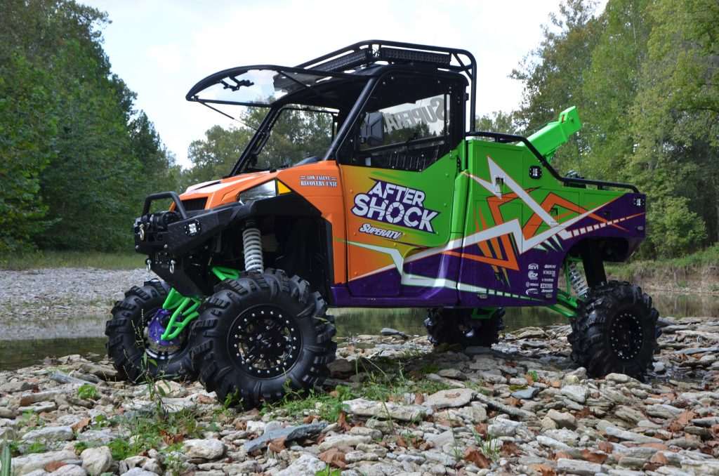 SuperATV's custom build After Shock is a huge inspiration to a lot of riders looking to build their own rig.
