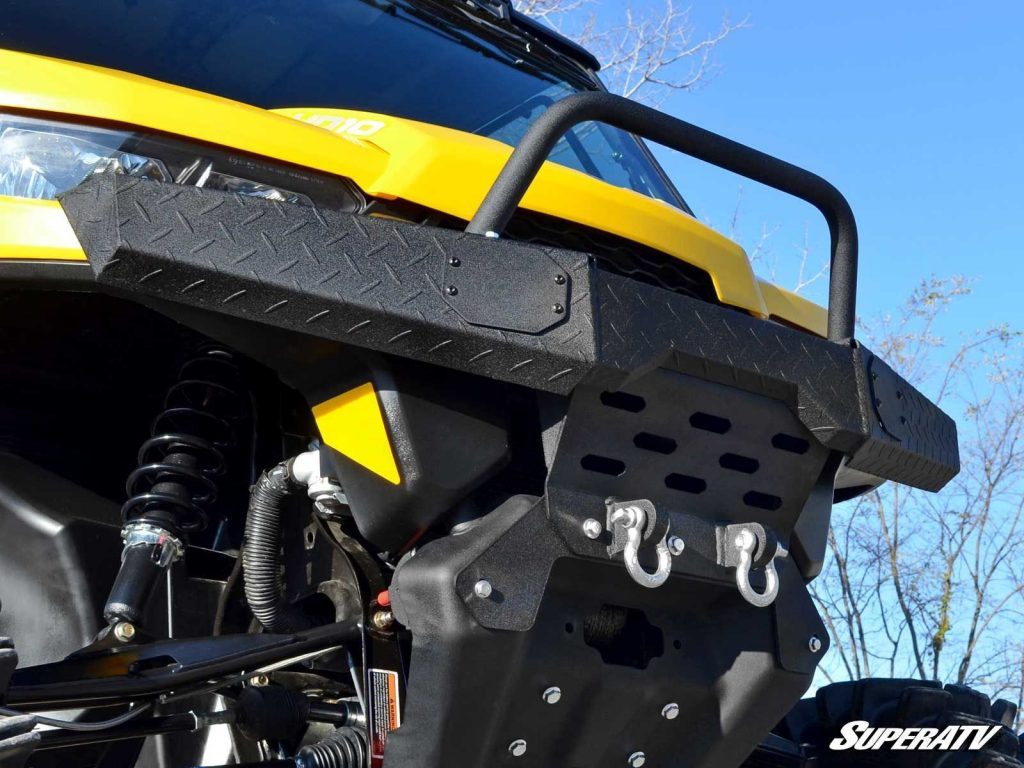 Front bumper on Can-Am Defender