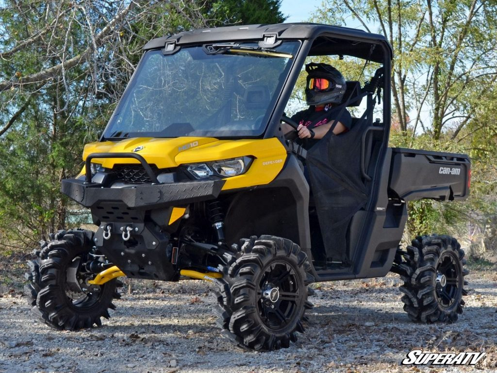 Can-Am Defender with portals