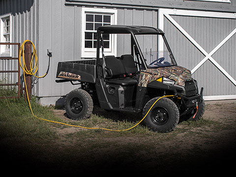 A photo of Polaris' electric UTV, the Ranger EV