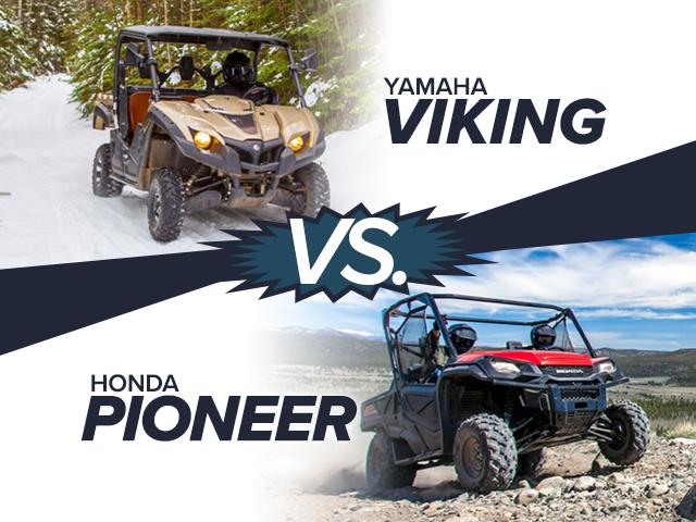 Honda Pioneer vs. Yamaha Viking: What Our Experts Think
