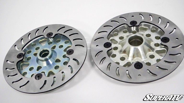 Gen 2 wheel hub comparison.