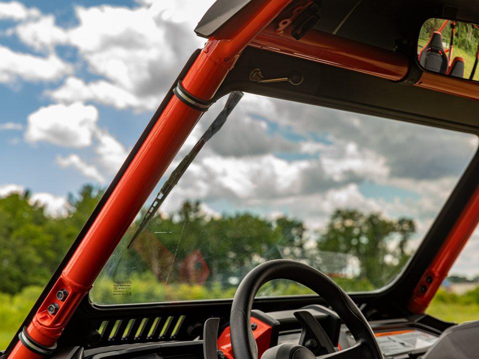 SuperATV Glass Windshield on Honda Talon 1000