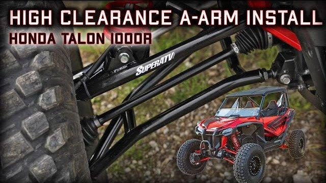 How to Install High Clearance A-Arms on a Honda Talon 1000R