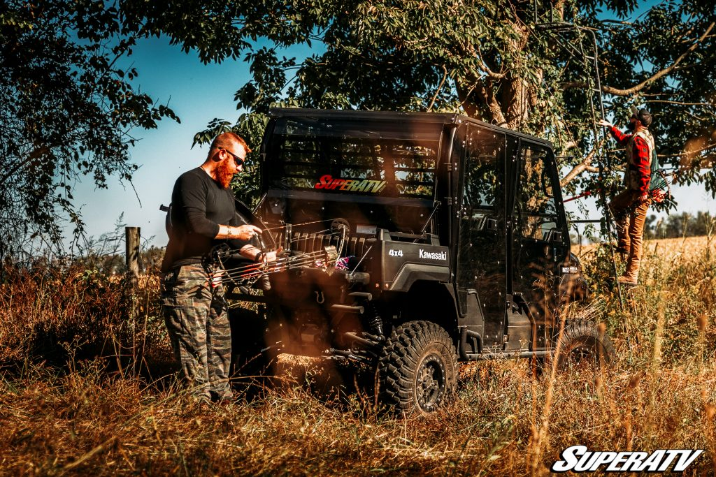 Use your ATV or UTV to prepare for the upcoming hunting season. Setting up tree stands and maintaining food plots is way easier with an off-road vehicle at your fingertips.