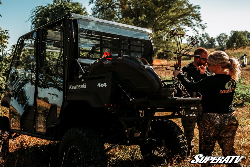 An ATV or UTV can be a hunter's best friend. These machines are perfect for taking you to remote hunting locations, hauling gear, and bringing home the kill.