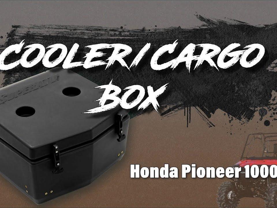 SuperATV cooler/cargo box for Honda Pioneer 1000-5