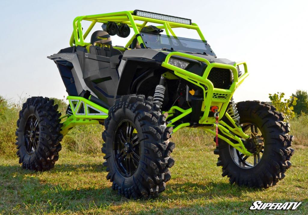 """22"""" Healy Fast Wheels and 40"""" Intimidator Tires. A UTV tire and wheel pair for extreme rides"""
