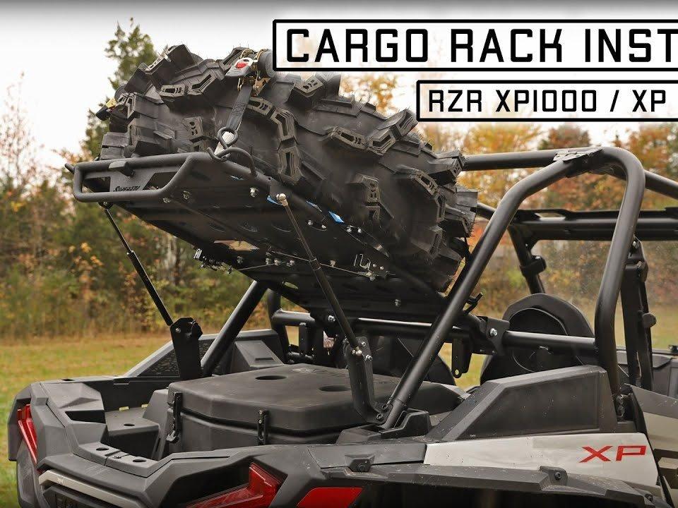 cargo rack on RZR XP Turbo