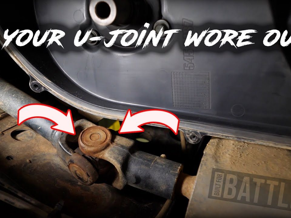 checking a U-joint