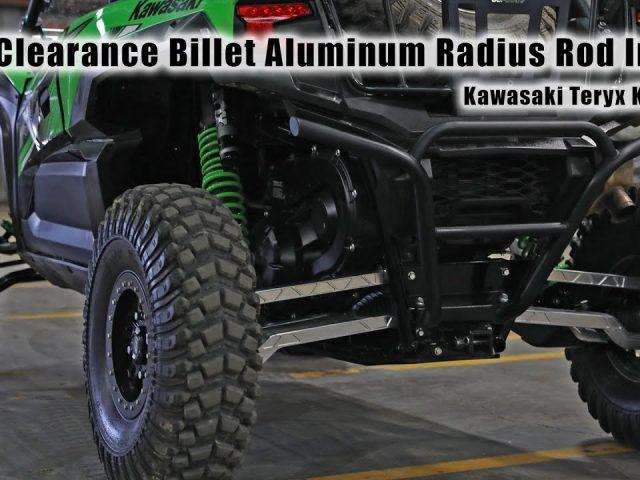 How to Install High Clearance Billet Aluminum Radius Arms on a Kawasaki Teryx KRX 1000