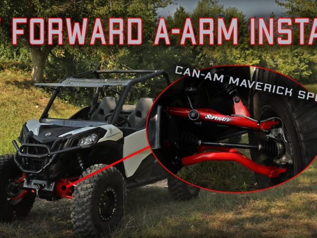 How to Install High Clearance Front A-Arms on a Can-Am Maverick