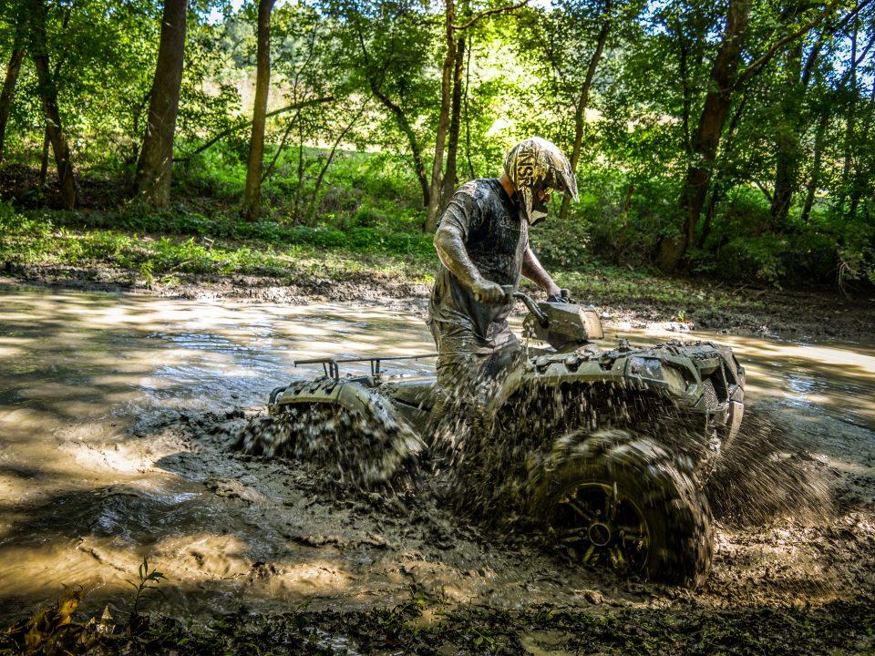ATV in mud