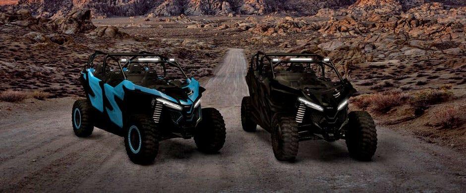 Nikola NZTs two electric UTV models